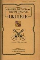 "Original Method and Self-Instructor on the Ukulele"" del 1915 scritto da A.A. Santos e Angeline Nunes"