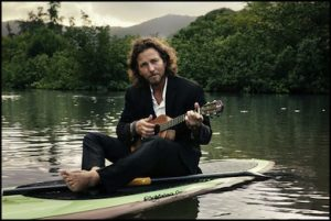 Storia dell'ukulele: Eddie Vedder ukulele