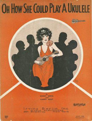 Storia dell'ukulele: copertina di un disco Tin Pan Alley