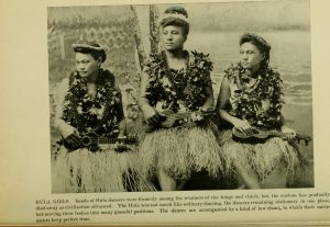 Storia dell'ukulele: donne con ukulele